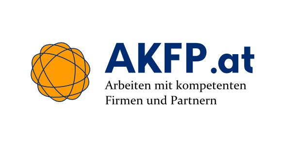 (Logo) AKFP.at: Arbeiten mit kompetenten Firmen und Partnern